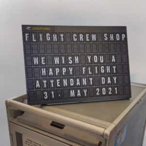 Airport Letter Board