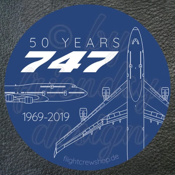 50 years 747