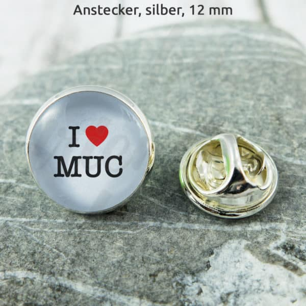 Anstecker I Love MUC