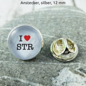Anstecker I Love STR