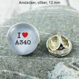 Anstecker I Love A340