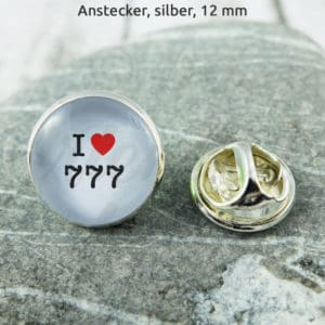 Anstecker I Love 777