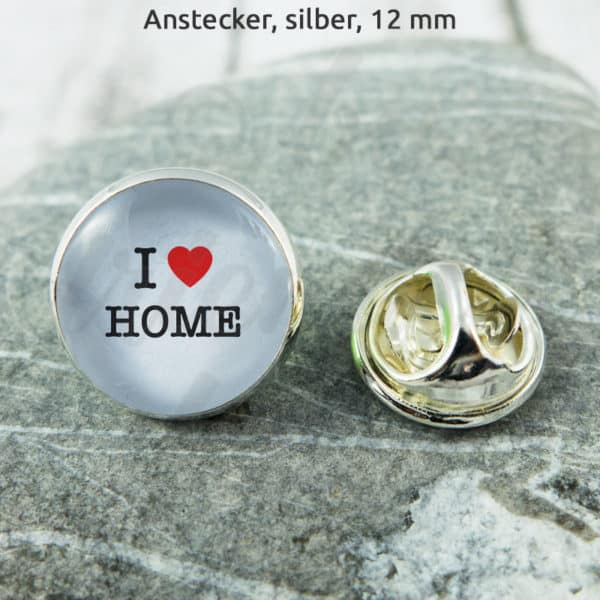 Anstecker I Love Home