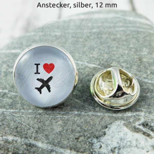 Anstecker I Love Flying
