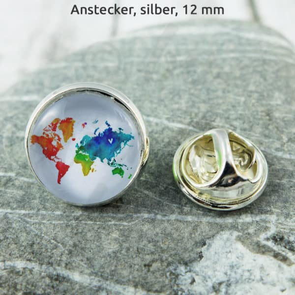 Anstecker Colourful World 1