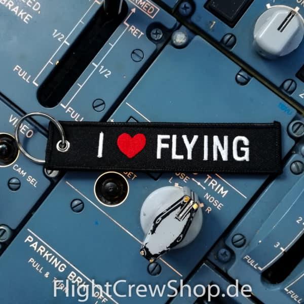 Schlüsselanhänger I Love Flying 1