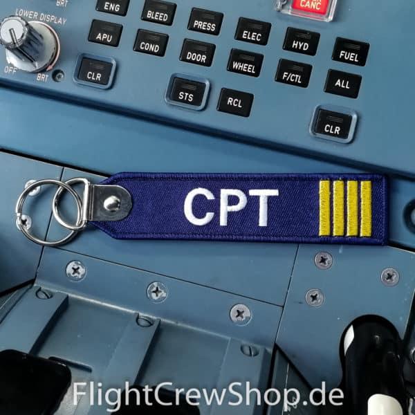 Stoff-Schlüsselanhänger CPT 1