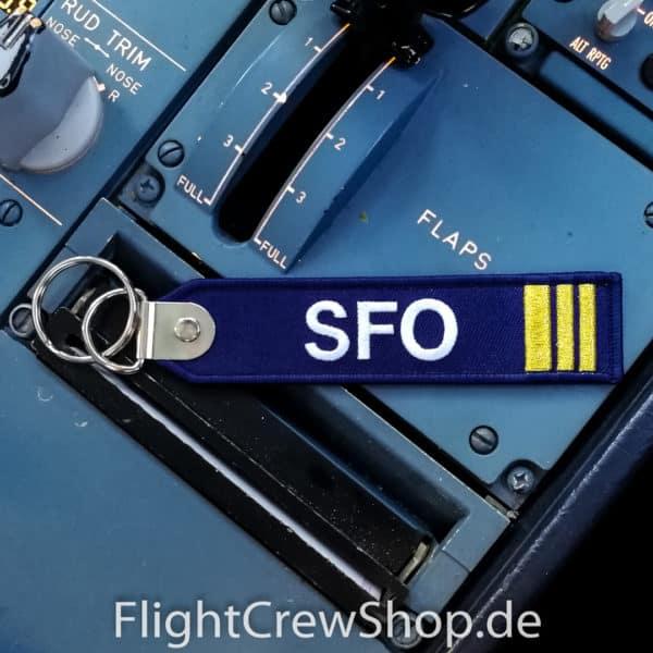 Stoff-Schlüsselanhänger SFO 1