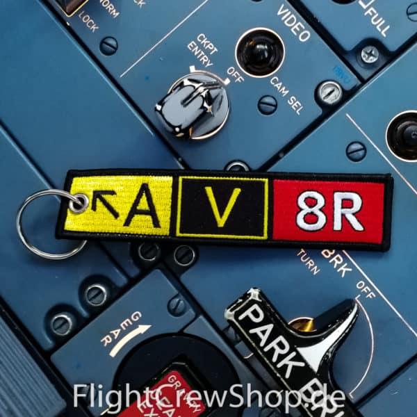 Stoff-Schlüsselanhänger AV8R/Aviator, Runway 1