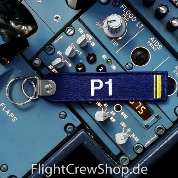 Stoff-Schlüsselanhänger P1 1