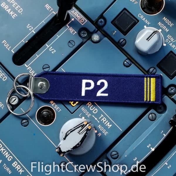 Stoff-Schlüsselanhänger P2 1