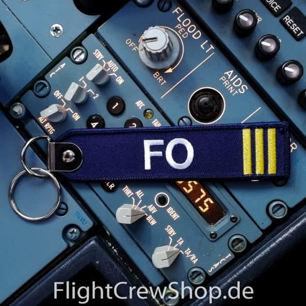 Stoff-Schlüsselanhänger FO 1