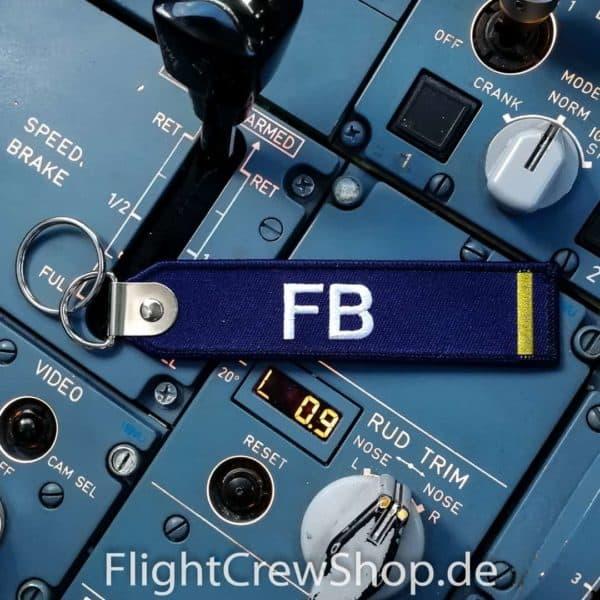 Stoff-Schlüsselanhänger FB 1
