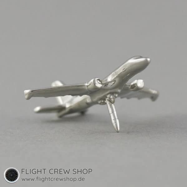 Anstecker 3D Flugzeug Twin Jet 2