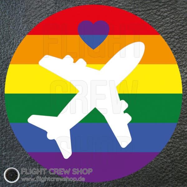Flying LGBTQ