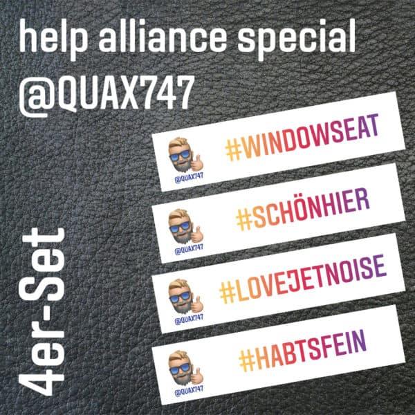 Quax747 4er Set